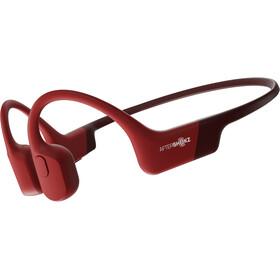 AfterShokz Aeropex Knogleledende hovedtelefoner, rød